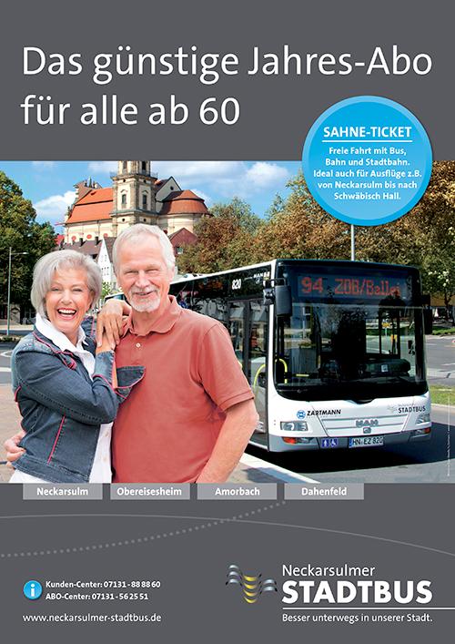 NSUStadtbus-Sahne-Ticket