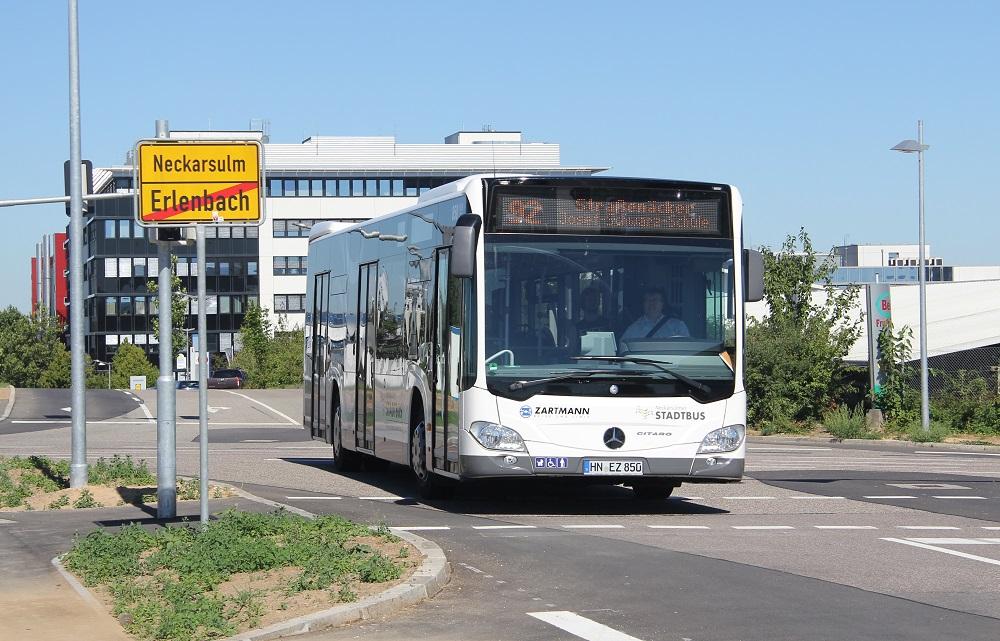 Bus Strassenaecker